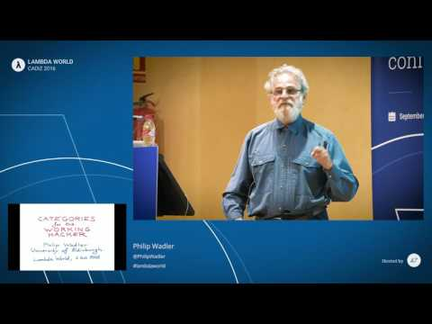 Category Theory for the Working Hacker by Philip Wadler