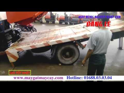 Xuất giao máy gặt lúa liên hợp Kubota DC60 Đi bắc Giang