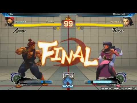 USFIV EVO 2014: EITA (Akuma) vs LOUFFY (Rose) Top 32