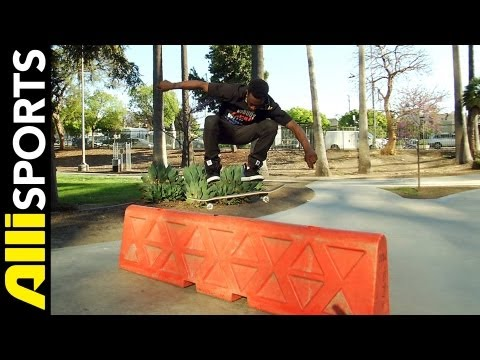 How To Switch Pop Shove It, Keelan Dadd, Alli Sports Skateboard Step by Step