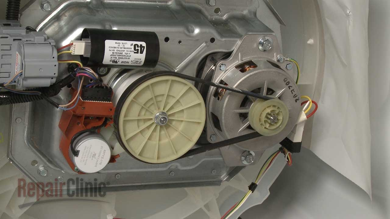 Washer Drive Belt Replacement How To Repair Whirlpool