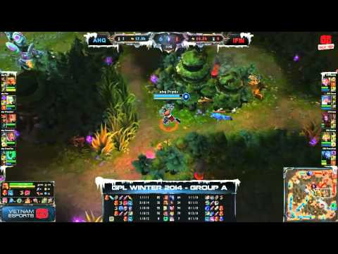 [GPL 2014 Mùa Đông] [Tuần 5] [Bảng A] AHQ e-Sports Club vs Team Infinite [29.11.2013]