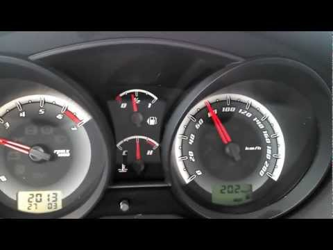 Fiesta Rocam 1.6 - Consumo rodoviário (80km/h)