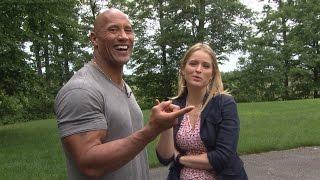 Secrets to Dwayne Johnson's Rock-Hard Abs | ABC World News Tonight | ABC News