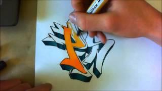 TUTORIAL GRAFFITI : Coloriage Avancé (dégradés) Avec