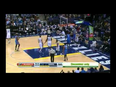 NBA CIRCLE - OKC Thunder Vs Memphis Grizzlies Highlights 11 Dec. 2013 www.nbacircle.com
