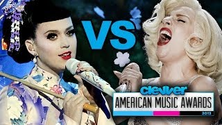Katy Perry VS. Lady Gaga Best Performance at 2013 American Music Awards