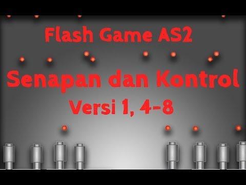 Membuat Game Flash Actionscript 2, 4, Senapan dan Kontrol, Memberi Batas Kanan Senapan dan Peluru