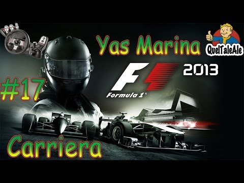 F1 2013 Gameplay ITA Logitech G27 Carriera #17 - Abu Dhabi Yas Marina - Questioni strategiche