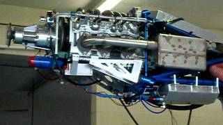 Mazda 20B Aircraft Engine Run #2