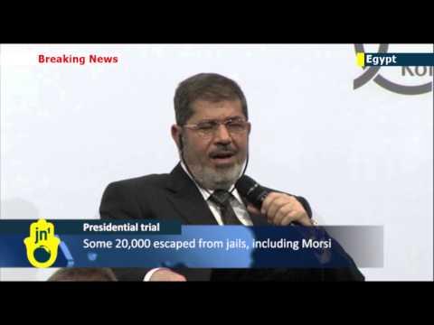 Ex-president Morsi's trial resumes in Cairo