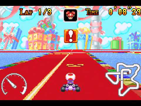 Mario Kart - Super Circuit - Ribbon Road shortcut - User video