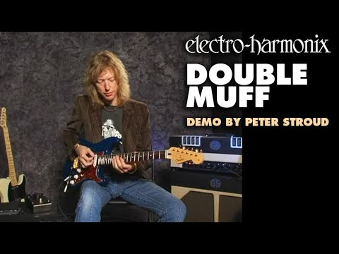 Electro Harmonix Double Muff Vintage Style Fuzz Guitar Effects Pedal