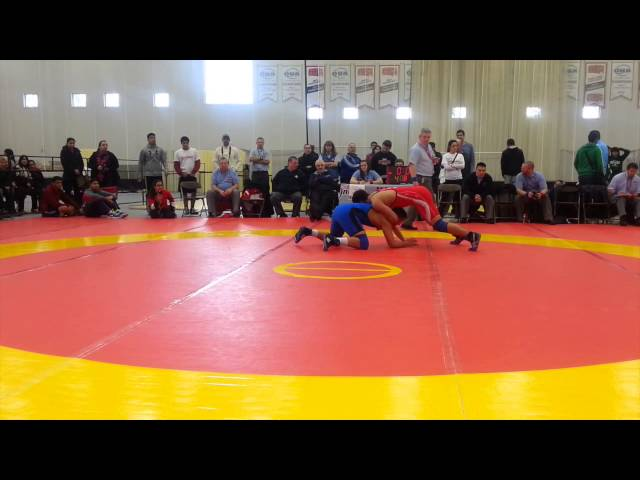 2014 Cadet National Championships: 85 kg Final Jim Fatouros vs. Arjun Sahota