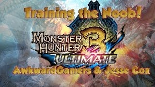Monster Hunter 3 Ultimate (Part 1): Teaching the Noob /w Jesse Cox!