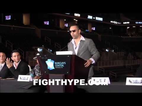 ZAB JUDAH VS. PAULIE MALIGNAGGI PRESS CONFERENCE [HD]