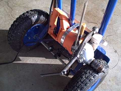 Redneck solution trailer dolly youtube for Outboard motor dolly harbor freight