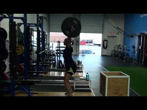 Power Snatch from the Hang
