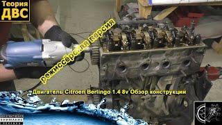 (21+) Унылая Команда: Двигатель Citroen Berlingo 1.4 8v (режиссёрская версия). Евгений Травников.