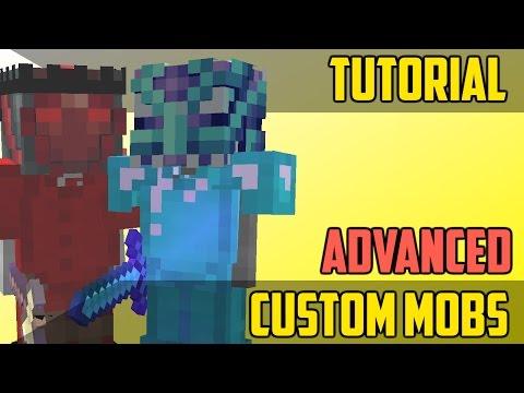How to Make Advanced Custom Mobs - Minecraft Command Block Tutorial [1.11][1.10][1.9]