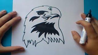 Como Dibujar Un Aguila Paso A Paso How To Draw An Eagle