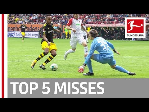 Aubameyang (Twice!), Goretzka and More - Top 5 Misses on Matchday 7