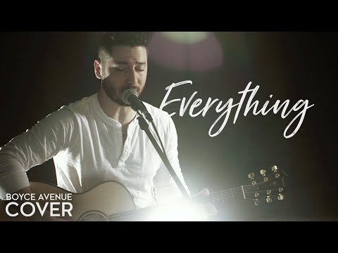Lifehouse - Everything(Boyce Avenue acoustic cover) on Spotify & iTunes