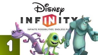 Disney Infinity: Monsters University Part 1 (Walkthrough