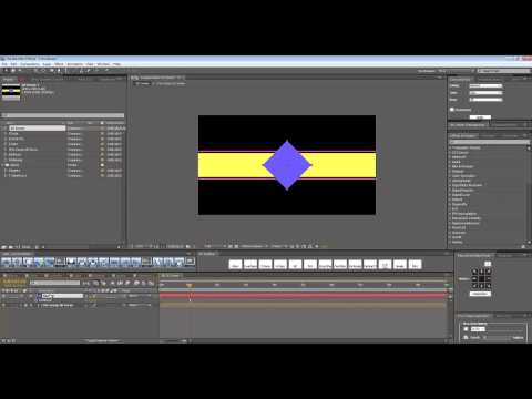 Graphic Animation Shapes Tutorial