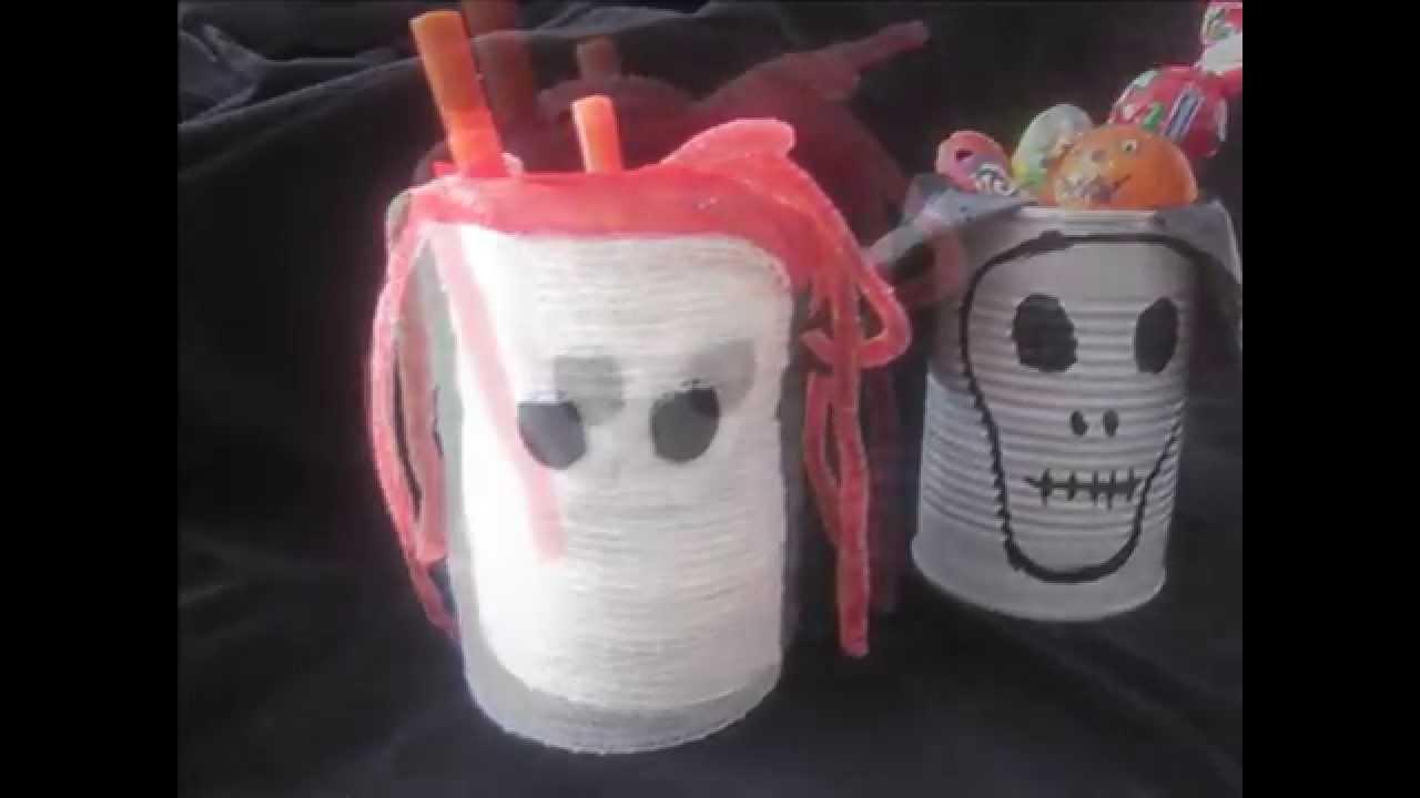 Manualidades halloween para ni os con material reciclado - Manualidades para ninos faciles ...