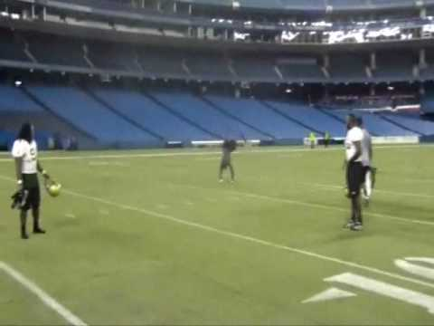 2009 iBowl Back Flip Contest Jason Pierre-Paul vs. Kion Wilson
