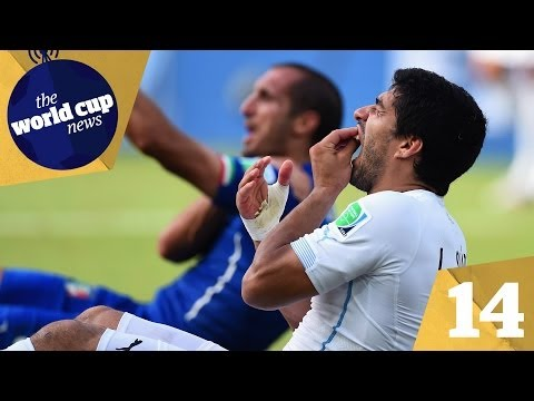 Suarez bite & Italy vs Uruguay reaction plus Ivory Coast crash out vs Greece | Day 14