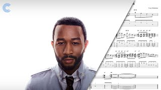 Trumpet All Of Me John Legend Sheet Music, Chords