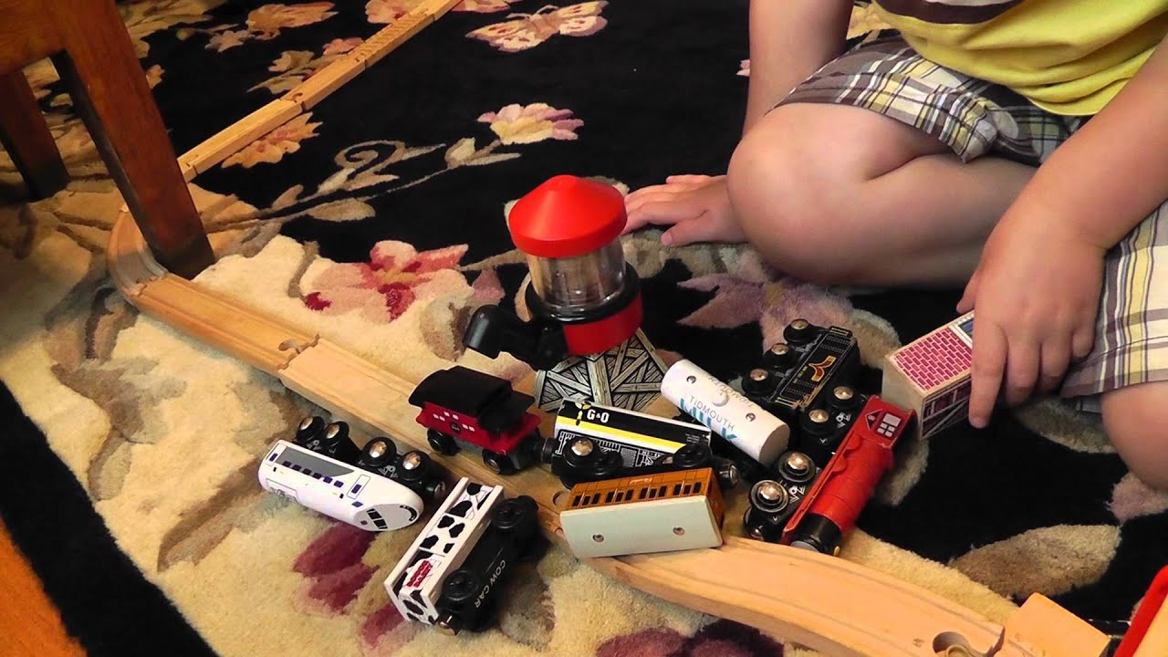 Toy train crash videos youtube zombies
