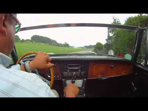 A short drive with an Austin-Healey 3000 MkIII