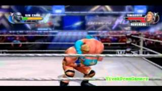 WWE All Stars Sin Cara CAW With Formula + Gameplay