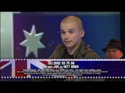 Joe Moore - Semi Final 5 Australia's Got Talent 2012 [FULL]