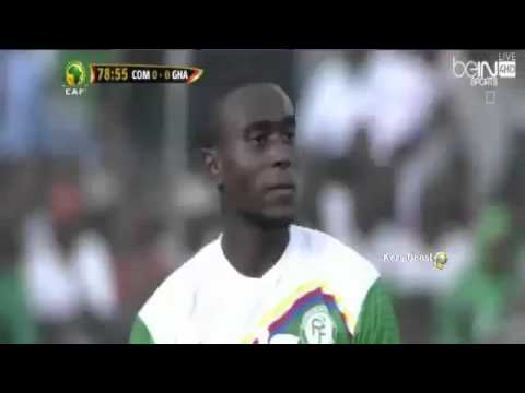Video: Watch the full highlights of Ghana's first-leg draw with Comoros in 2018 World Cup qualifiers