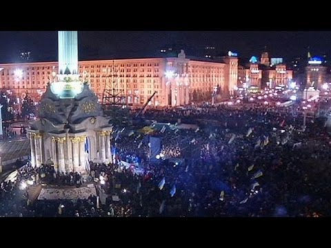 Ukraine's opposition leaders provide political focus for pro-EU protests