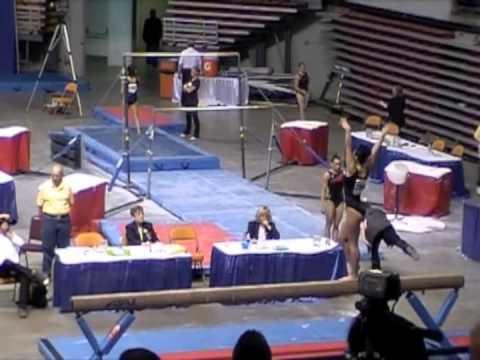Victoria Caputo College Gymnastics