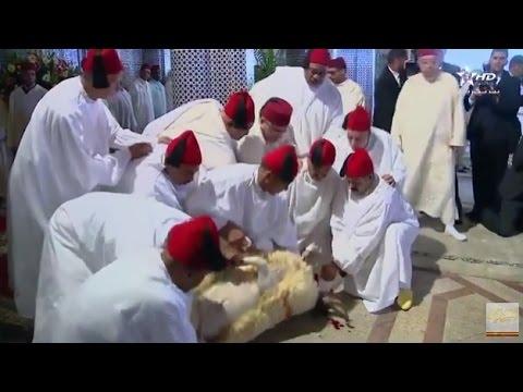 حفل عقيقة الأمير مولاي أحمد ابن مولاي رشيد بالرباط
