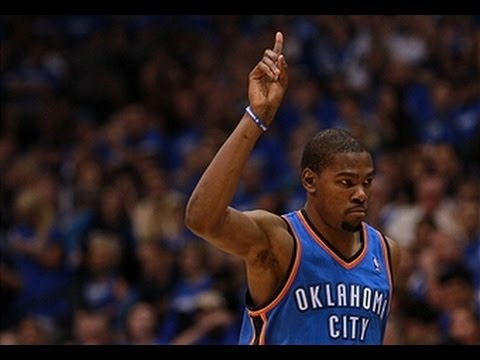 Kevin Durant's Top Ten Plays of the 2011-2012 Season