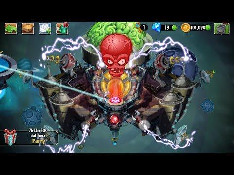 Far Future Day 25 - Zomboss - Zombot Tomorrow-Tron - Plants vs Zombies 2 new update