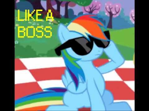 Rainbow Dash Like A Boss Hqdefault