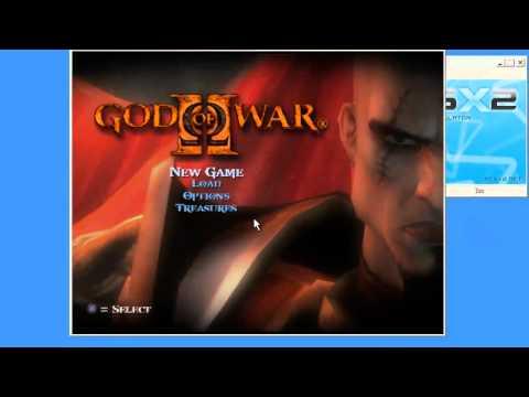 Best settings for god of war 2  pcsx2 0.9.8 full speed!!
