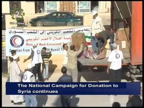 Kuwait's National Campaign for Donating to the Syrian People continues