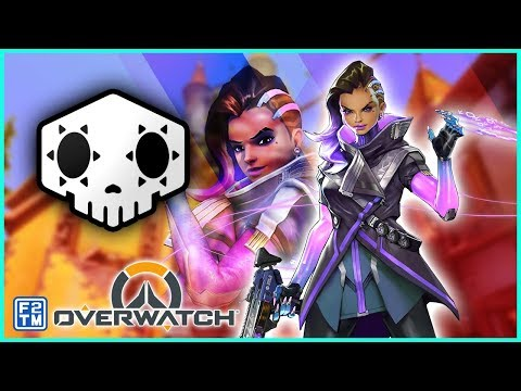 Battling for the Win as a Sombra main on Overwatch