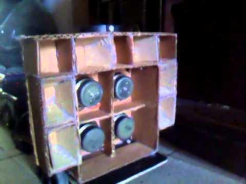 Mini paredão de papelão do jocelio som