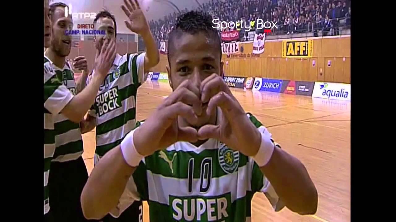 Futsal :: 20J :: Braga - 3 x Sporting - 6 de 2013/2014