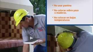 Colocar ladrillos refractarios en Parrillas, Chimeneas y Hornos